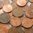 Euro coins — Stock Photo
