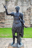 Estatua de trajano emperador — Foto de Stock