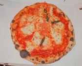 Pizza Margherita — Photo