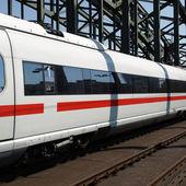 Train picture — Stock Photo