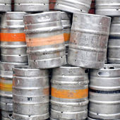 Beer casks — Stock Photo