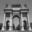 Arco della Pace, Milan — Stock Photo