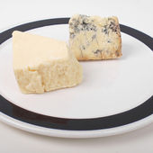 British cheeses — Stock Photo