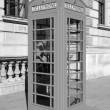 London telephone box — Stock Photo #30079257