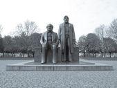 Marx-engels forum socha — Stock fotografie