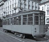 Tram vintage, milan — Photo