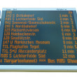 Timetable — Stock Photo