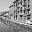 Stock Photo: Naviglio Grande, Milan