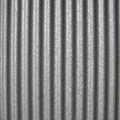 Gegolfd staal — Stockfoto