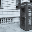London telephone box — Stock Photo #30244357