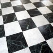 Checked floor — Stock Photo