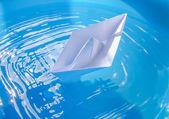 Paper ship — Stock Photo