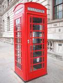 Caixa telefônica de londres — Fotografia Stock