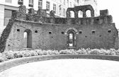 St Giovanni in Conca ruins, Milan — Stock Photo