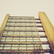 Vintage look Baffron Tower London — Stock Photo