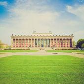 Retro-look altesmuseum, berlijn — Stockfoto