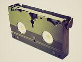 Retro look Video tape — Stock Photo