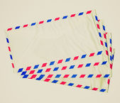 Retro look Airmail letter — Stock Photo