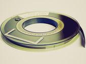 Retro look Tape reel — Stock Photo