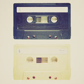 Retro-look tape cassette — Stockfoto