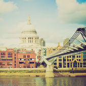 Vintage look Saint Paul, UK — Stock Photo