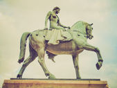 Retro look Lady Godiva — Stock Photo