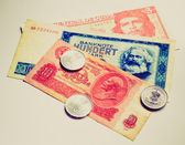 Retro look Money — Stockfoto
