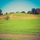 Vintage look Primrose Hill London — Stock Photo