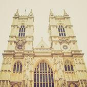 Vintage stil westminster abbey — Stockfoto