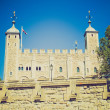 Vintage look Tower of London — Stock Photo
