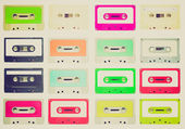 Retro look Tape cassette — Stock Photo