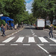 Stock Photo: Abbey Road London UK