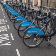 Barclays Cycle Hire — Stock Photo