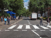 Abbey Road London UK — Zdjęcie stockowe
