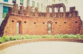 ретро святого джованни в руинах конка, милан — Стоковое фото