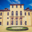 Retro look Villa della Regina, Turin — Stock Photo