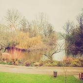 винтажный вид сент-джеймс парк — Стоковое фото