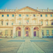 Stock Photo: Retro look Conservatorio Verdi, Turin, Italy