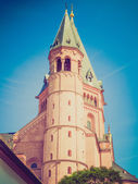 Catedral de mainz look retro — Foto Stock
