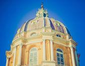 Retro-look basilica di superga, turijn — Stockfoto