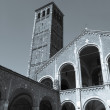 Stock Photo: Sant Ambrogio church, Milan
