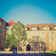 Retro look Altes Schloss Old Castle, Stuttgart — Stock Photo #31917197