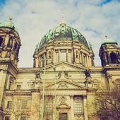 ретро смотреть berliner dom — Стоковое фото