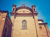 église de look rétro sant eustorgio, milan — Photo