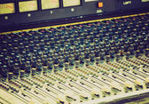 Retro vzhled soundboard — Stock fotografie