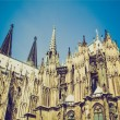 Stock Photo: Retro look Koeln Dom