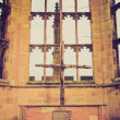 Retro look Coventry Cathedral ruins — Foto de Stock