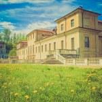 Retro look Villa della Regina, Turin — Stock Photo #32286249