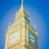 Vintage look Big Ben — Stock Photo