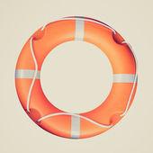 Retro look Life buoy — Stockfoto